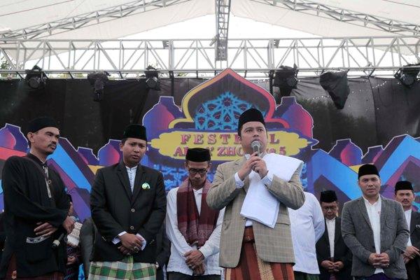 Walikota Tangerang meluncurkan program Tangerang Berhaji. (uad)