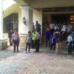 576 Polisi Awasi Pengundian Nomor Urut Cagub Banten