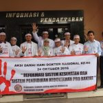 Ratusan Dokter di Tangsel Gelar Aksi Damai
