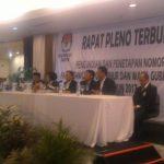 KPU Banten Gelar Rapat Penggundian Nomor Urut Paslon