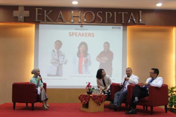 Seminar soal penyakit stroke di Eka Hospital. (kie)
