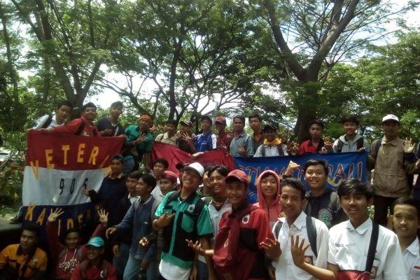 Pelajar dari Kota Tangerang deklarasi stop tawuran. (uad)