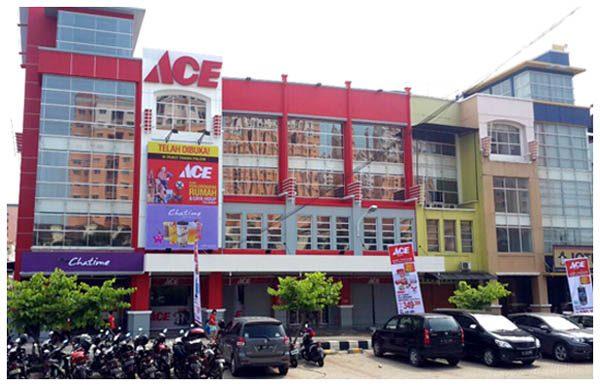 Toko ACE Hardware ke-125 yang baru dibuka di Taman Palem Jakarta Barat. (ist)