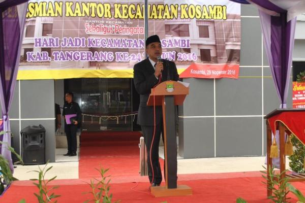 Bupati Tangerang, Ahmed Zaki Iskandar. (ijul)