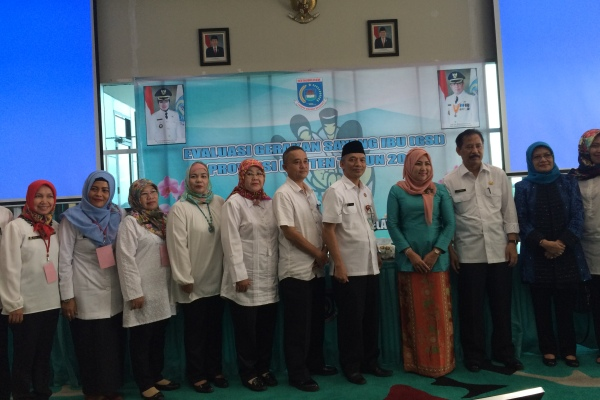 Tim evaluasi GSI Provinsi Banten kunjungan ke Kota Tangsel. (nad)