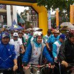 Fun Bike HUT ke-8 Kota Tangsel di Serpong Meriah