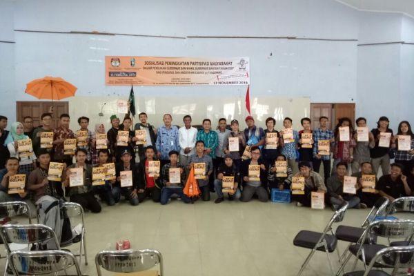 HMI Tangerang ajak pemilih cerdas pada Pilgub Banten. (uad)