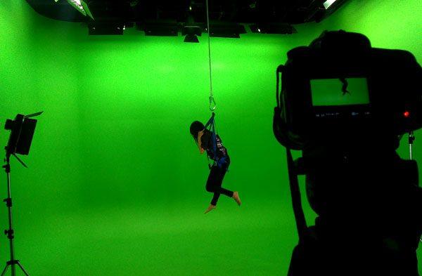 Studio Green Screen melengkapi fasilitas penunjang Program Studi FTV  UMN. (bd)