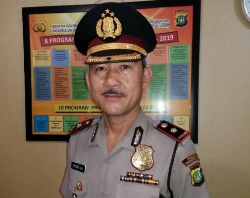 Kapolsek Tangerang, Kompol Efendi. (pp)