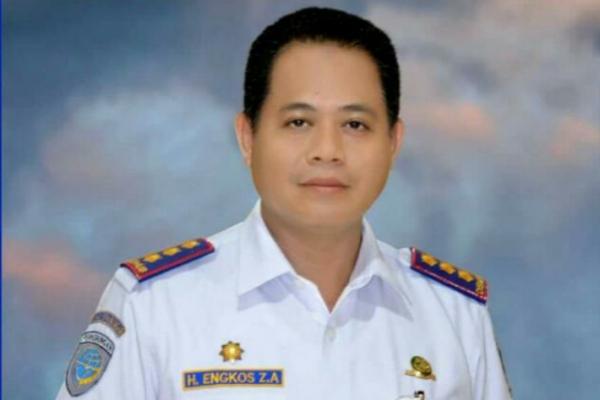 Kepala Dishub Kota Tangerang, Engkos Zarkasyi.