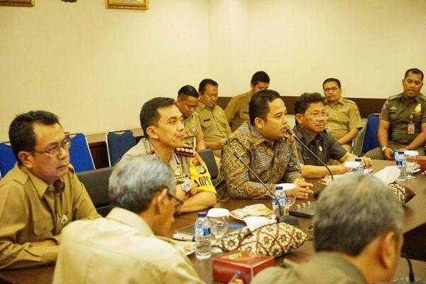 Rapat koordinasi forkominda Kota Tangerang. (ist)