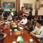 Presiden Jokowi Sambangi Rois Amm PBNU