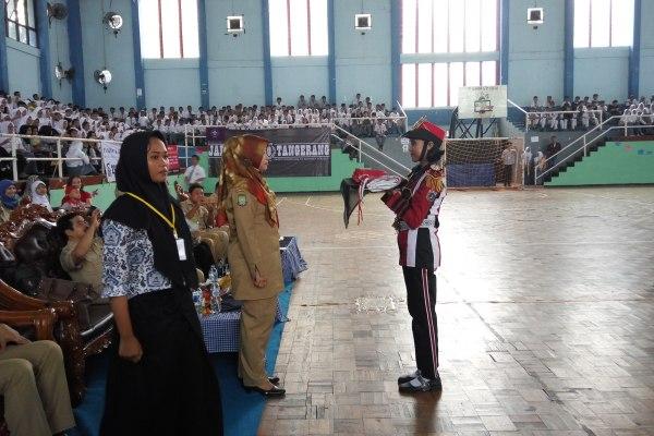 Meriah, kegiatan Ten Nations yang digelar SMAN 10 Kota Tangerang. (pp)