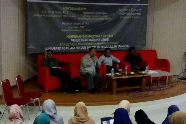 Diskusi Publik di UIN Syarif Hidayatullah. (ist)