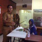 Tes Urine untuk Percepatan Pembentukan BNN Kota Tangerang