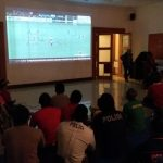 Polrestro Tangerang Gelar Nobar Final Timnas Indonesia vs Thailand