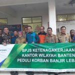 BPJS Ketenagakerjaan Salurkan Bantuan di Lebak & Pandeglang