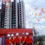 NavaPark Lakukan Topping Off Marigold Tower II