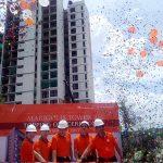 NavaPark Lakukan Topping Off Marigold Tower II