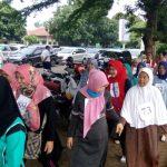 Calon Haji Tangsel Diminta Keliling Lapangan Pamulang