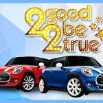 Pelanggan & Pengunjung Supermal Karawaci Berebut 2 Mini Cooper