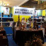 Kenalkan Produk UMKM, Dinas Koperasi dan UKM Kota Tangerang Ikuti Pameran Inacraf 2017