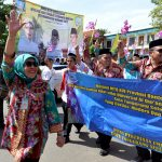 Kontingen Tangsel Turut Meriahkan Pawai Ta'aruf MTQ XIV Banten
