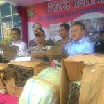 47 Kg Ganja Aceh Gagal Beredar di Tangsel