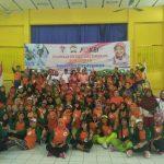Walikota Tangerang Meriahkan Senam Poco-poco