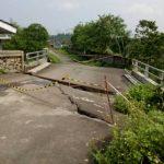 Jembatan di Kademangan Roboh Diterjang Banjir