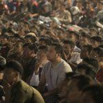Ribuan Warga Nobar bersama Walikota Tangerang