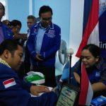 Turun Gunung, Arief Daftar 3 Partai Dalam Sehari