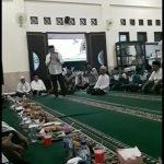Masjid jadi Lokasi Pernyataan Sikap Warga untuk Dukung Arief jadi Walikota Kembali