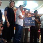 Berbagi Kasih Ramadhan, SK Donasikan Rp 100 juta