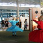 Tarian Sufi Hipnotis Pengunjung Bandara Soekarno Hatta