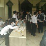 128 Pegawai Dishub Kota Tangerang Tes Urine