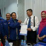 Perintah DPP Demokrat Wajib Ditaati, Dukung Arief jadi Walikota