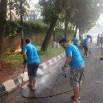 Hotel Santika Premiere Bintaro Gelar Kampanye Kebersihan