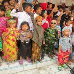Puluhan Anak Ikuti Karnaval Budaya & Sepeda Hias