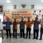 Hanura Banten Pastikan Rekom kepada Arief
