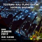 Ada Planetarium Portabel di Bandara Soekarno Hatta