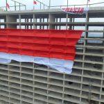 Keren, Bendera Merah Putih Raksasa Terbentang di Kota Tangerang