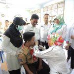 Pemkot Tangerang Canangkan Imunisasi Campak dan Rubella