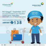 1 September, Layanan Airport Helper Gratis di Bandara Soekarno Hatta