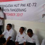 PMI Kota Tangerang Potong Tumpeng