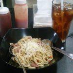 Santap Spaghetti Aglio Olio Nan Pedas di Bintaro