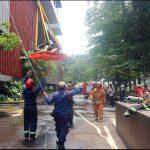 Kebakaran Hotel Santika Premiere Bintaro Berhasil Dipadamkan