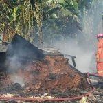 Gudang Pupuk Hangus Gegara Bakar Sampah
