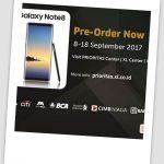Dibuka Pre-Order Samsung Galaxy Note 8 Bagi Pelanggan XL PRIORITAS