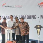 Dikelola ASTRA Infra, Tol Jombang-Mojokerto Resmi Beroperasi